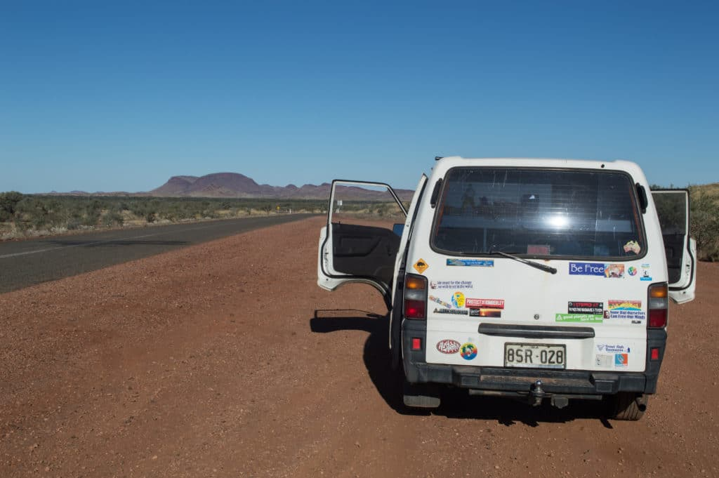 backpacker campervans Australia
