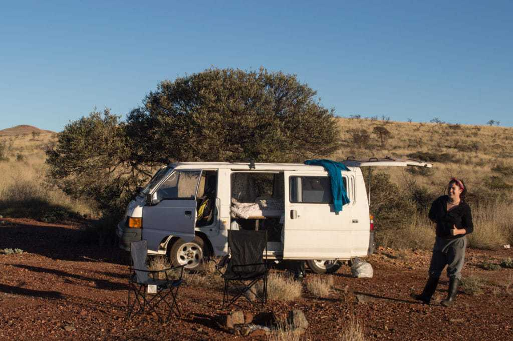 buying a campervan in Australia