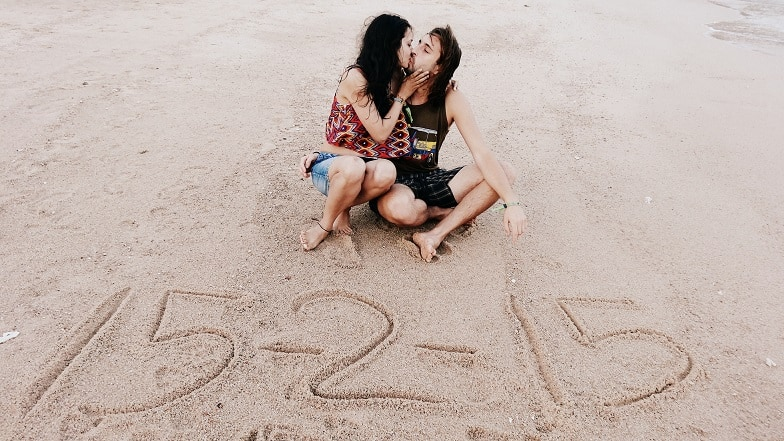 Our Save the Date which was clicked in Koh Tao - same place where me first met