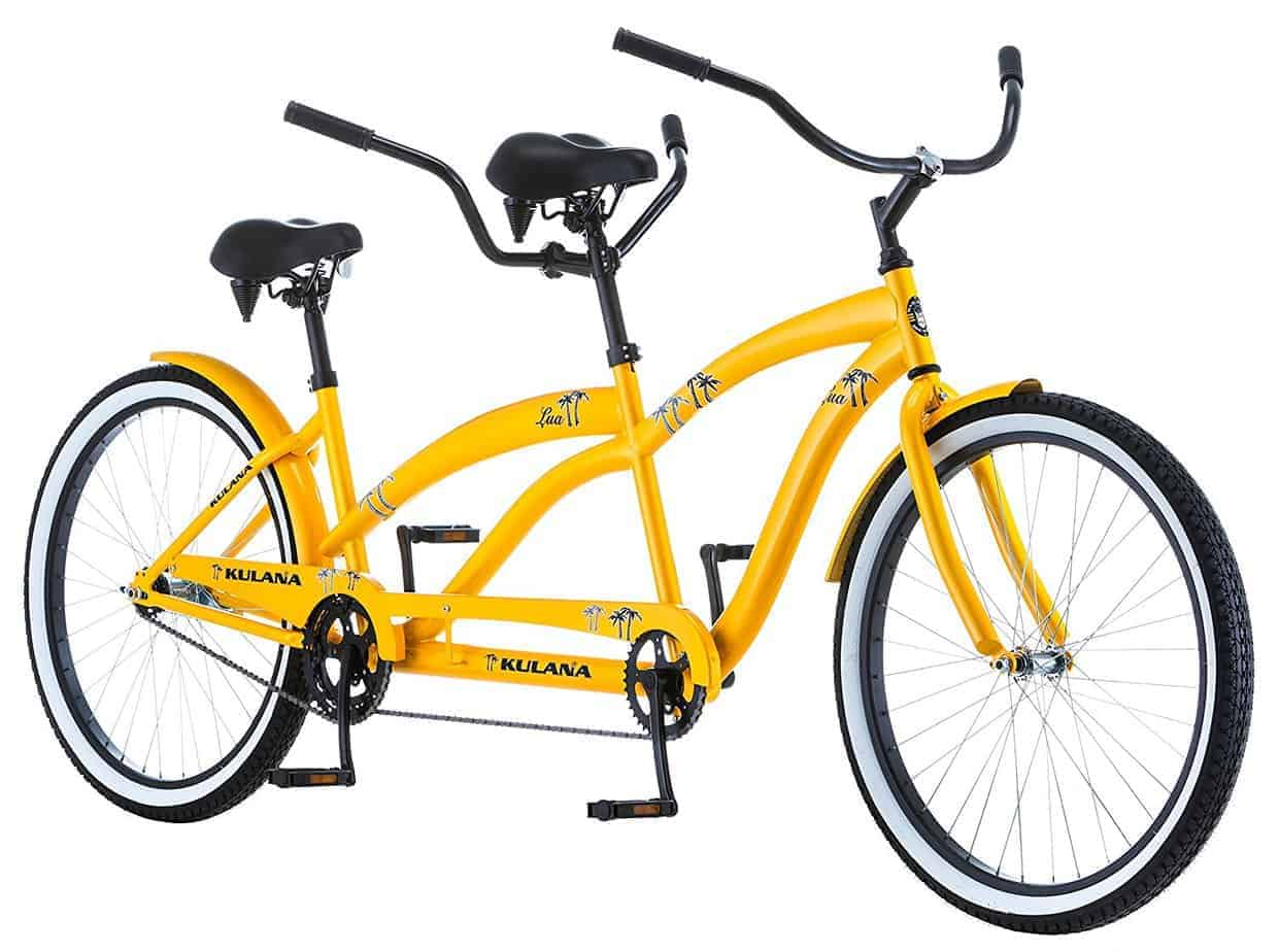 tandem bike | wedding gifts for travel couples
