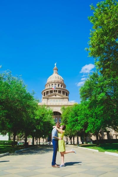 Texas State Capitol, An Austin Elopement - Corey Mendez Photography