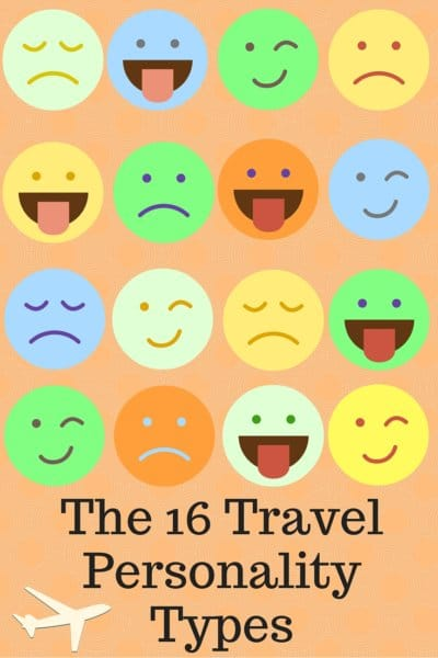 The 16 Travel Personality Types