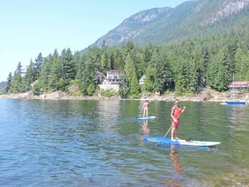 Two Scots Abroad Sechelt Sunshine Coast, BC_