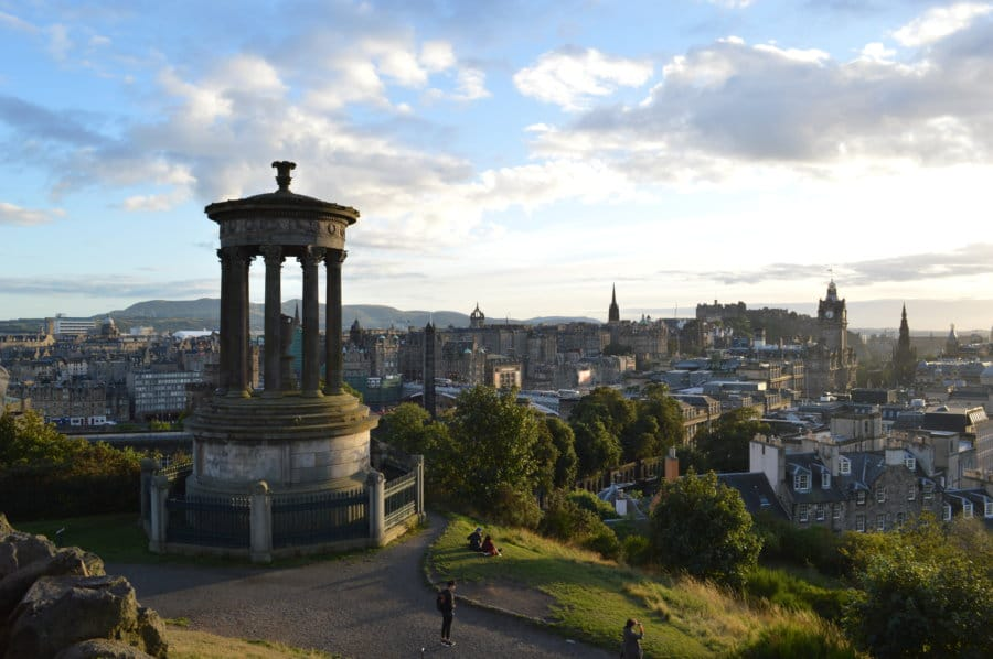 best free things to do in Edinburgh - Calton Hill