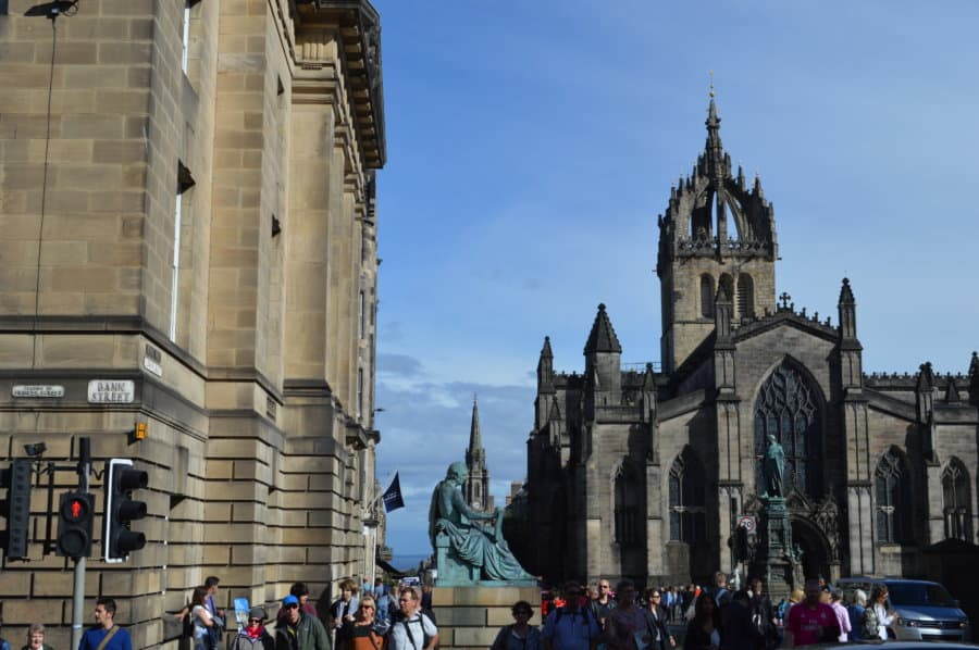 edinburgh for free - St. Giles Cathedral
