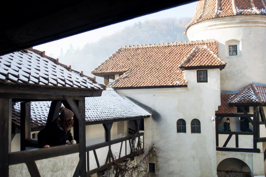 things to do Brasov Romania - Castle Bran inside