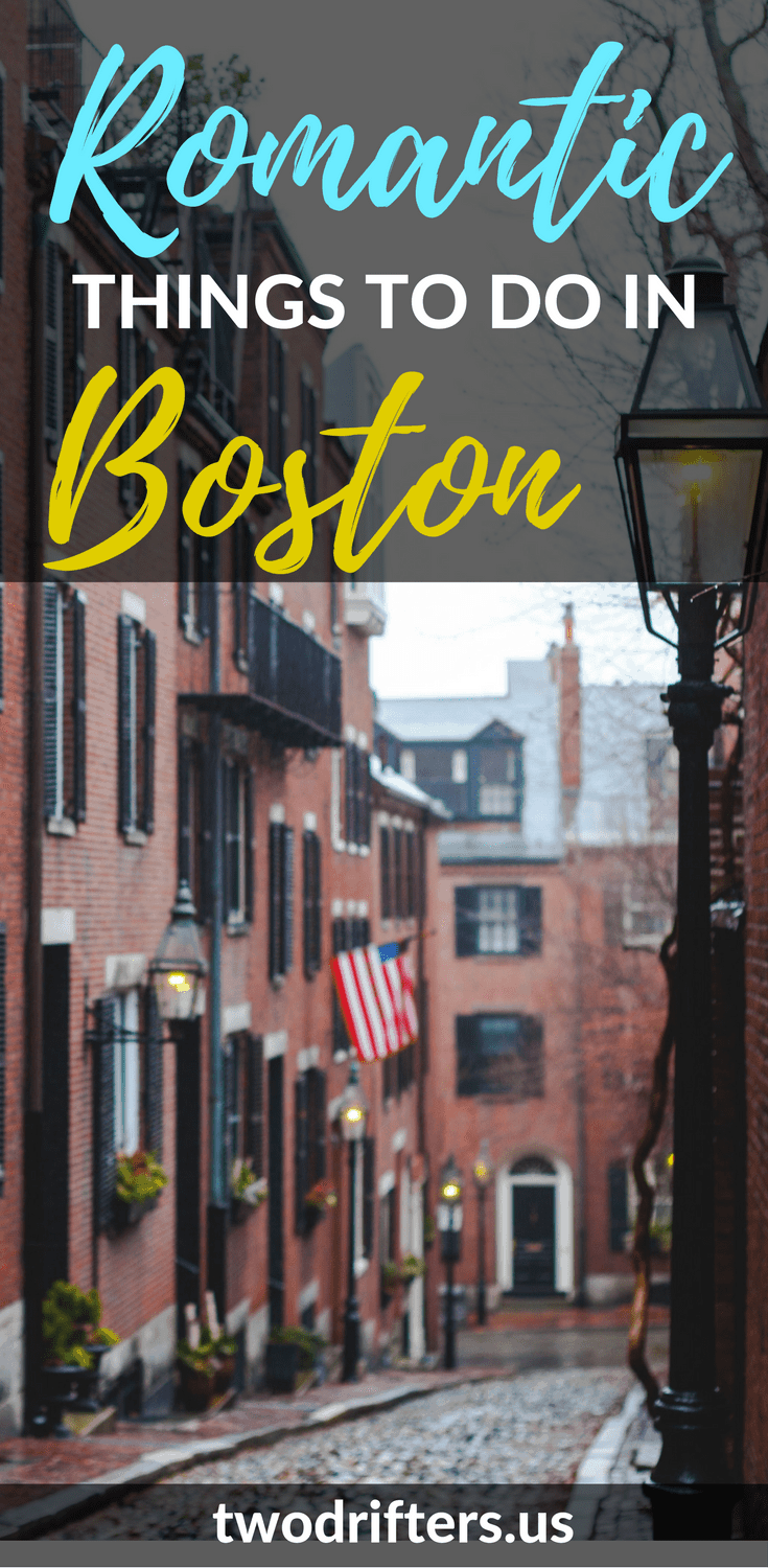 Looking for the most romantic things to do in Boston? Boston is a city of culture, history, and yes: romance. Our couples guide shows you how to find it. #Couples #Boston #RomanticGetaway #NewEngland #Travel