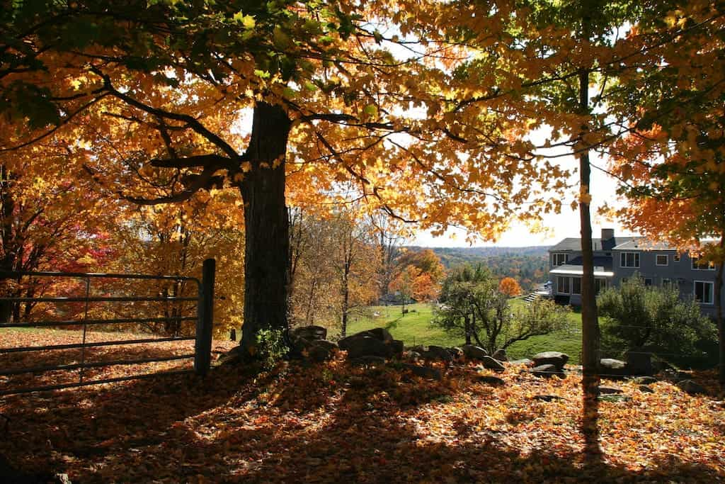 new england vacation rentals | new hampshire fall