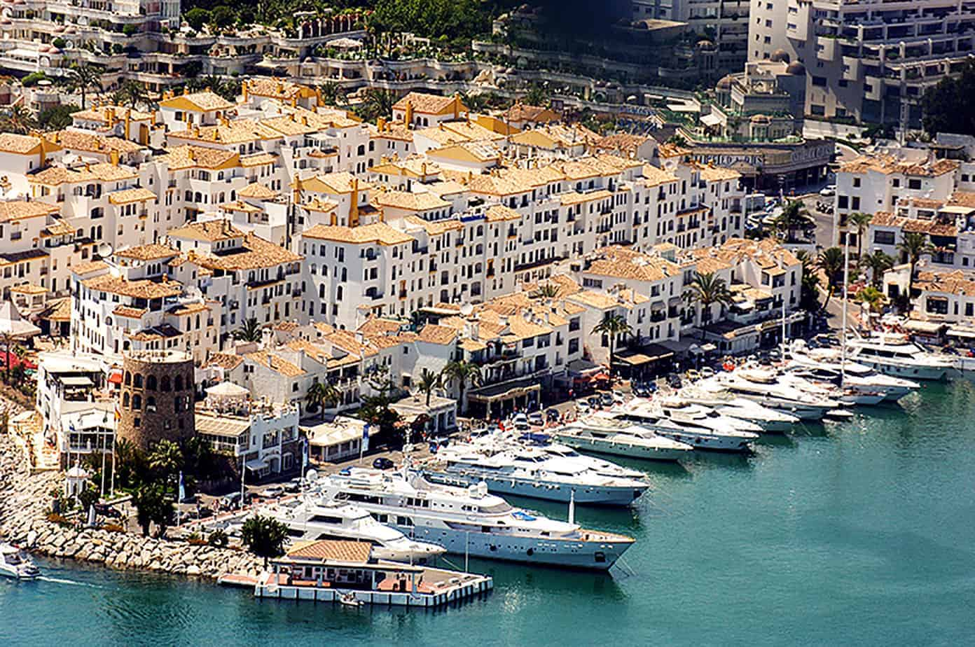 Marbella for couples | Boats in harbor