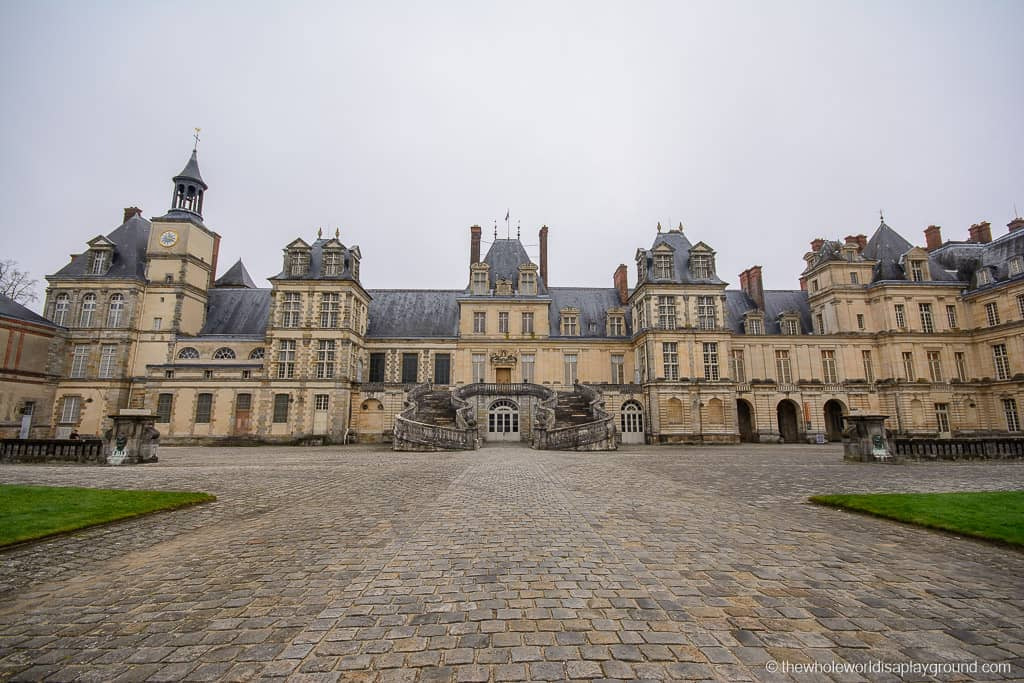 best French castles - Chateau de Fontainebleau