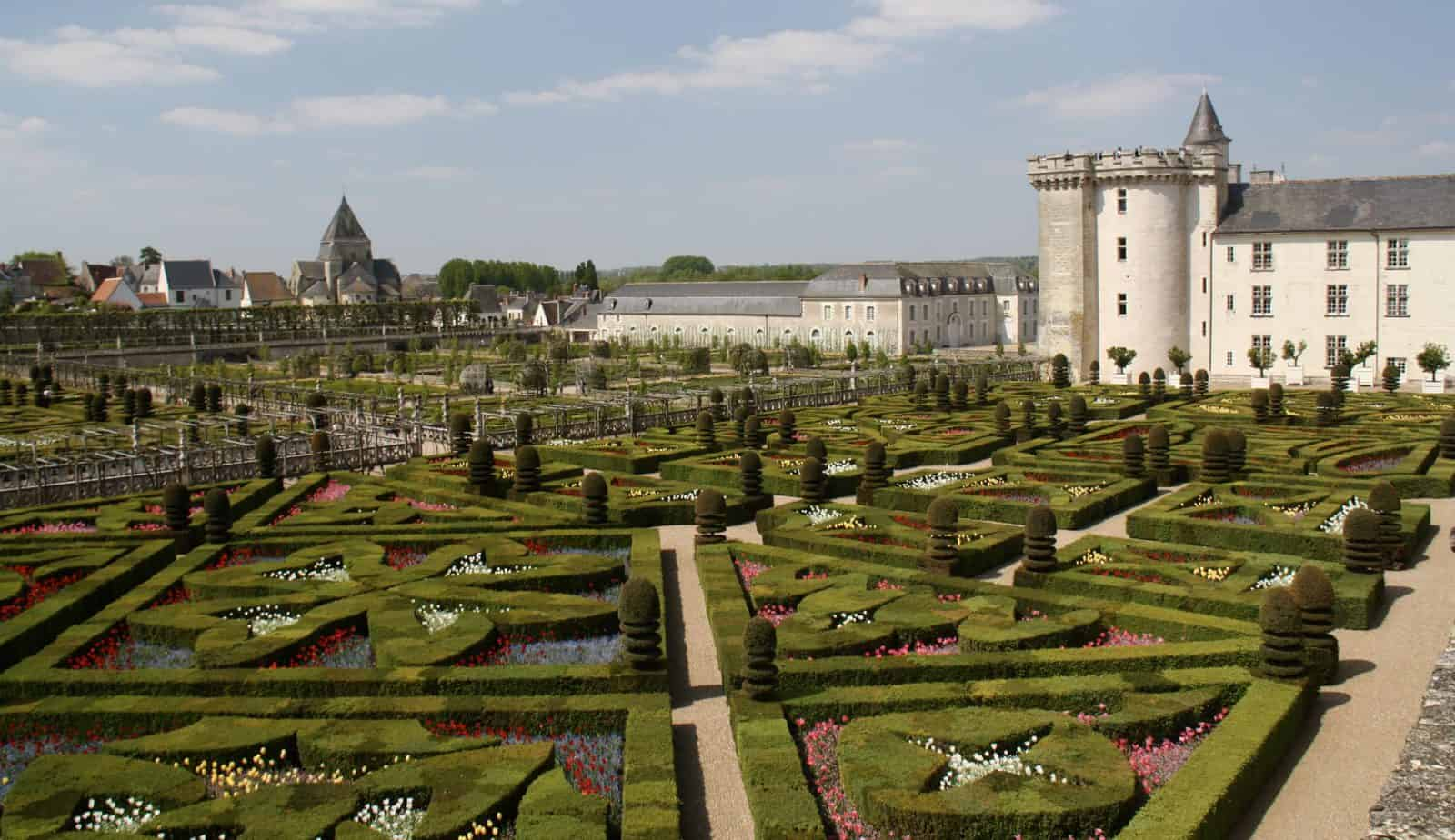 French castles to visit - Villandry