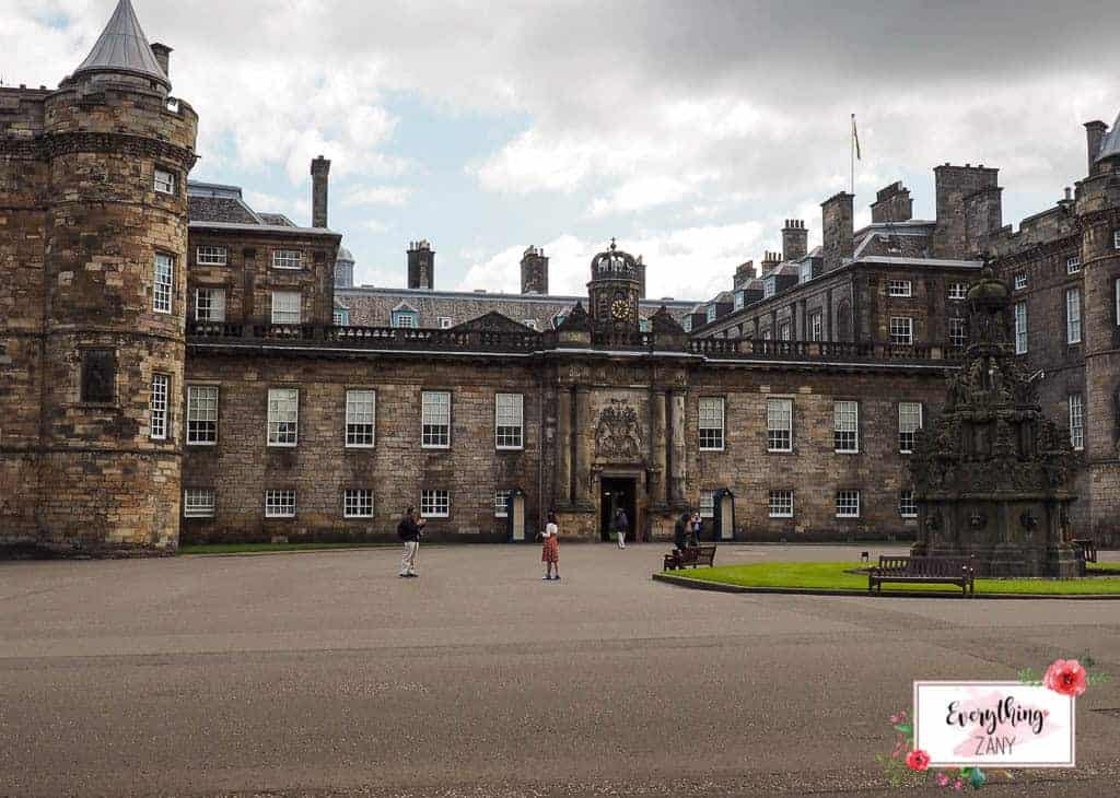 Scottish castles - Holyrood Palace