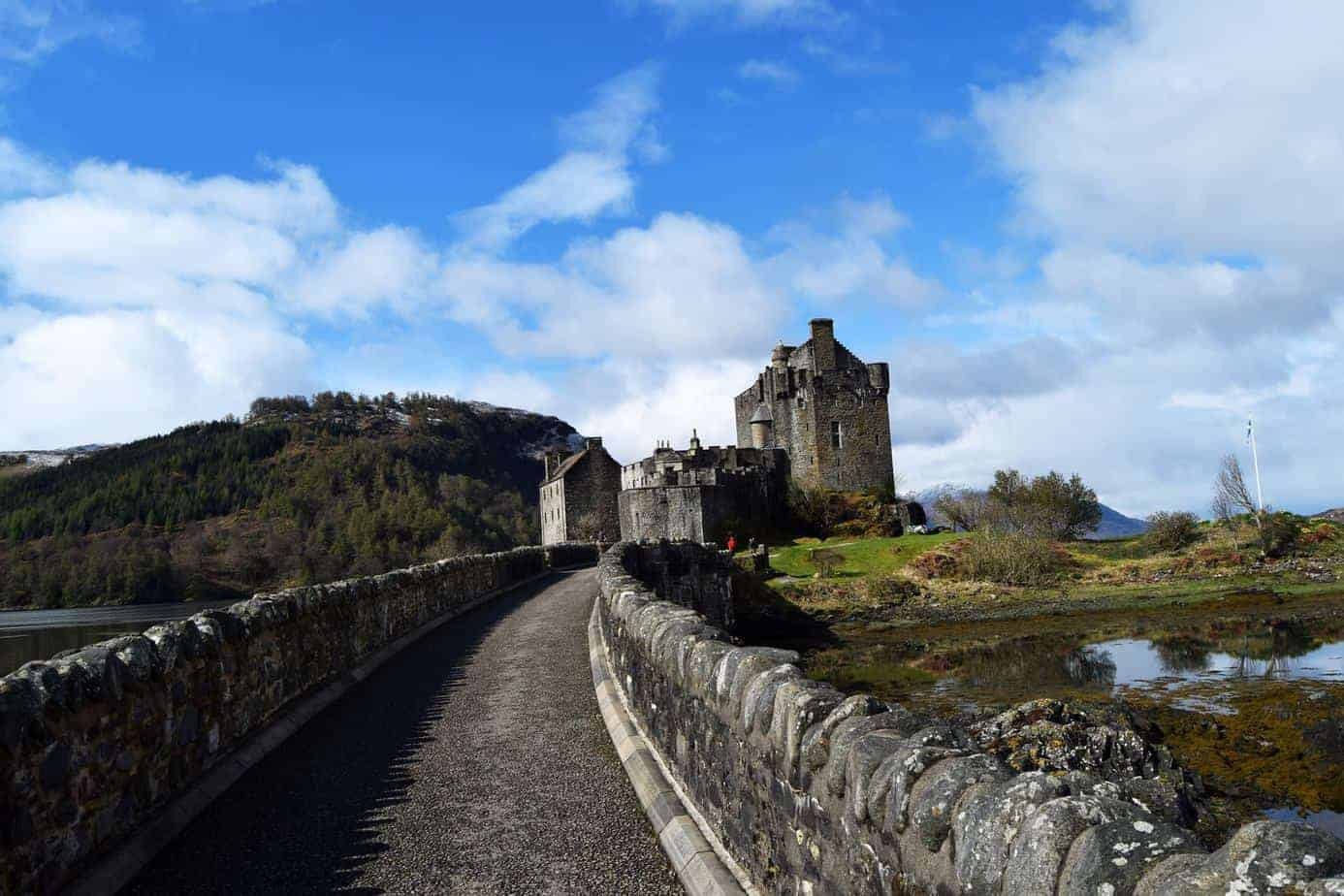 beautiful castles of Scotland - Eilean Donan