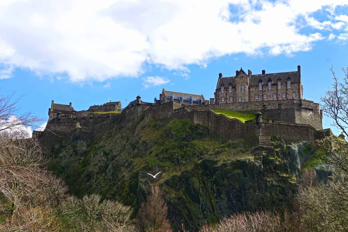 top castles in Scotland - Edinburgh Castle