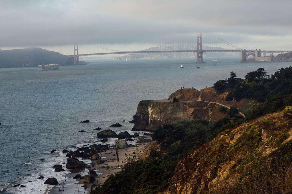 romantic things to do in San Francisco - Golden Gate Bridge