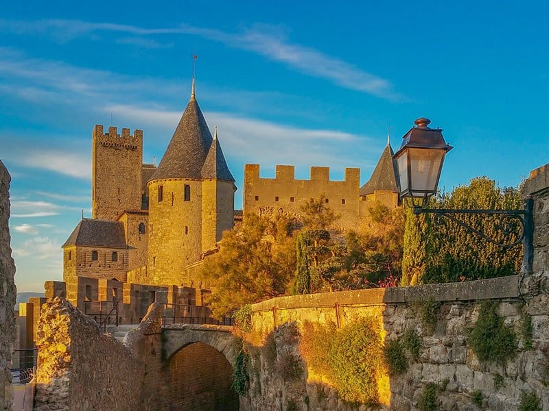 stunning castle france - Carcassone