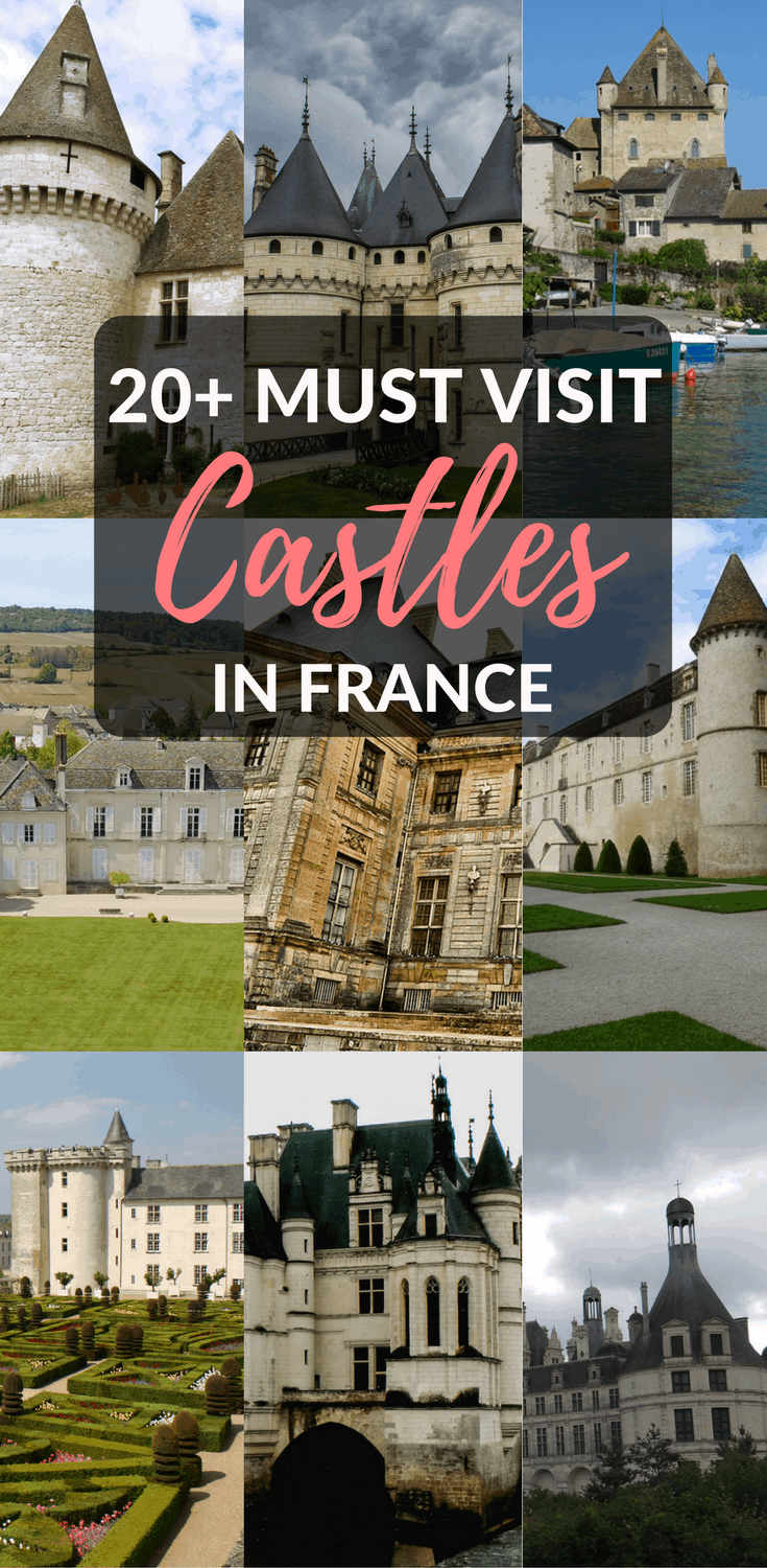 Fairytale chateaux the best castles in france for Castles to stay in france