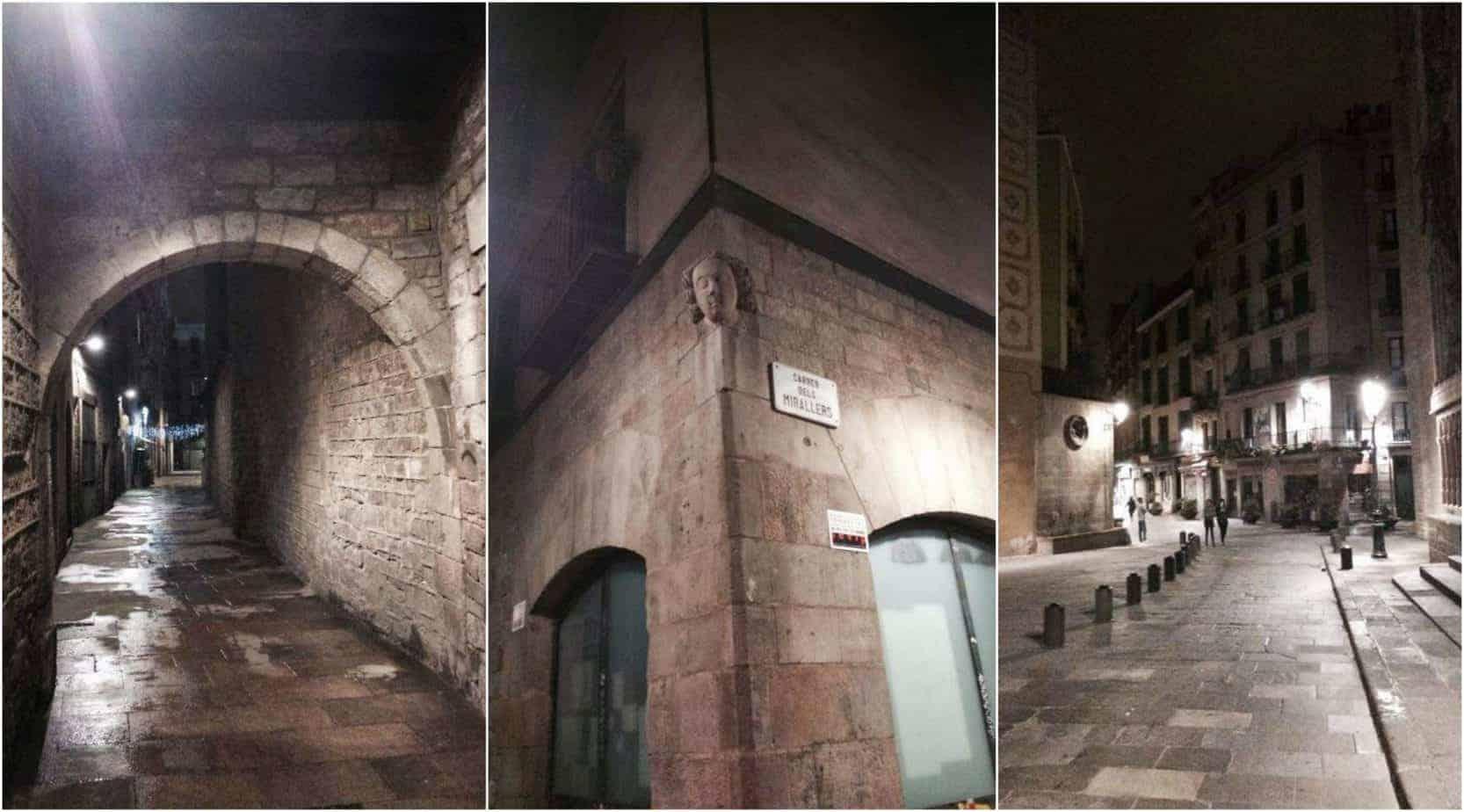 romantic Barcelona - the Gothic Quarter