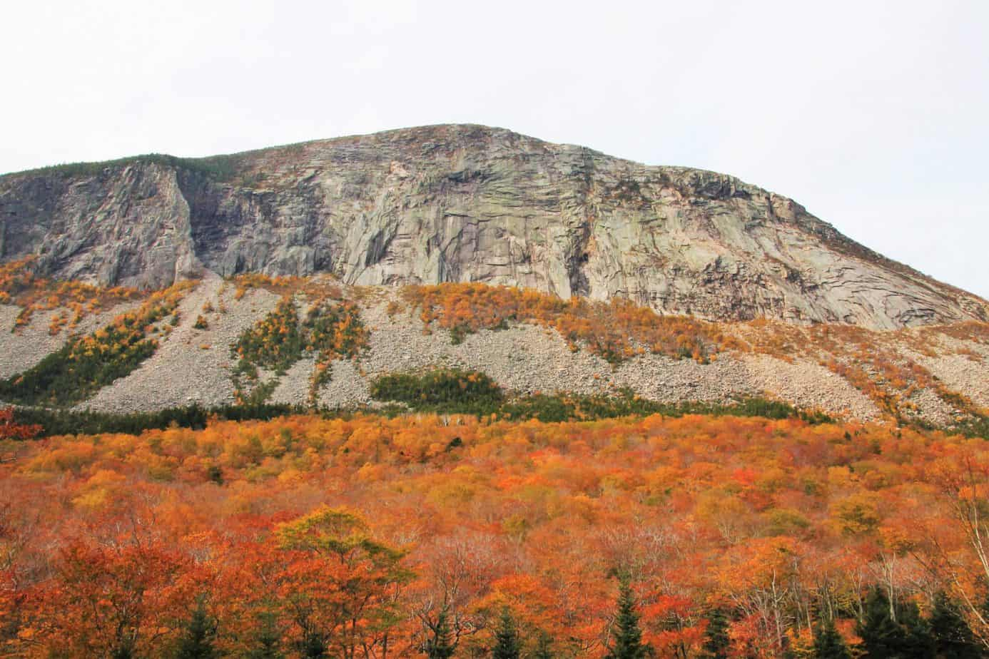 fall in the White Mountains, New Hampshire