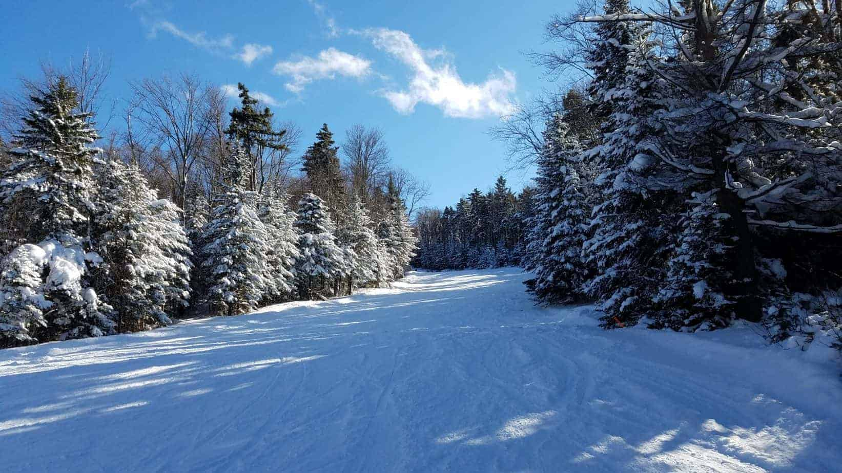 skiing in New Hampshire - New England Christmas activities