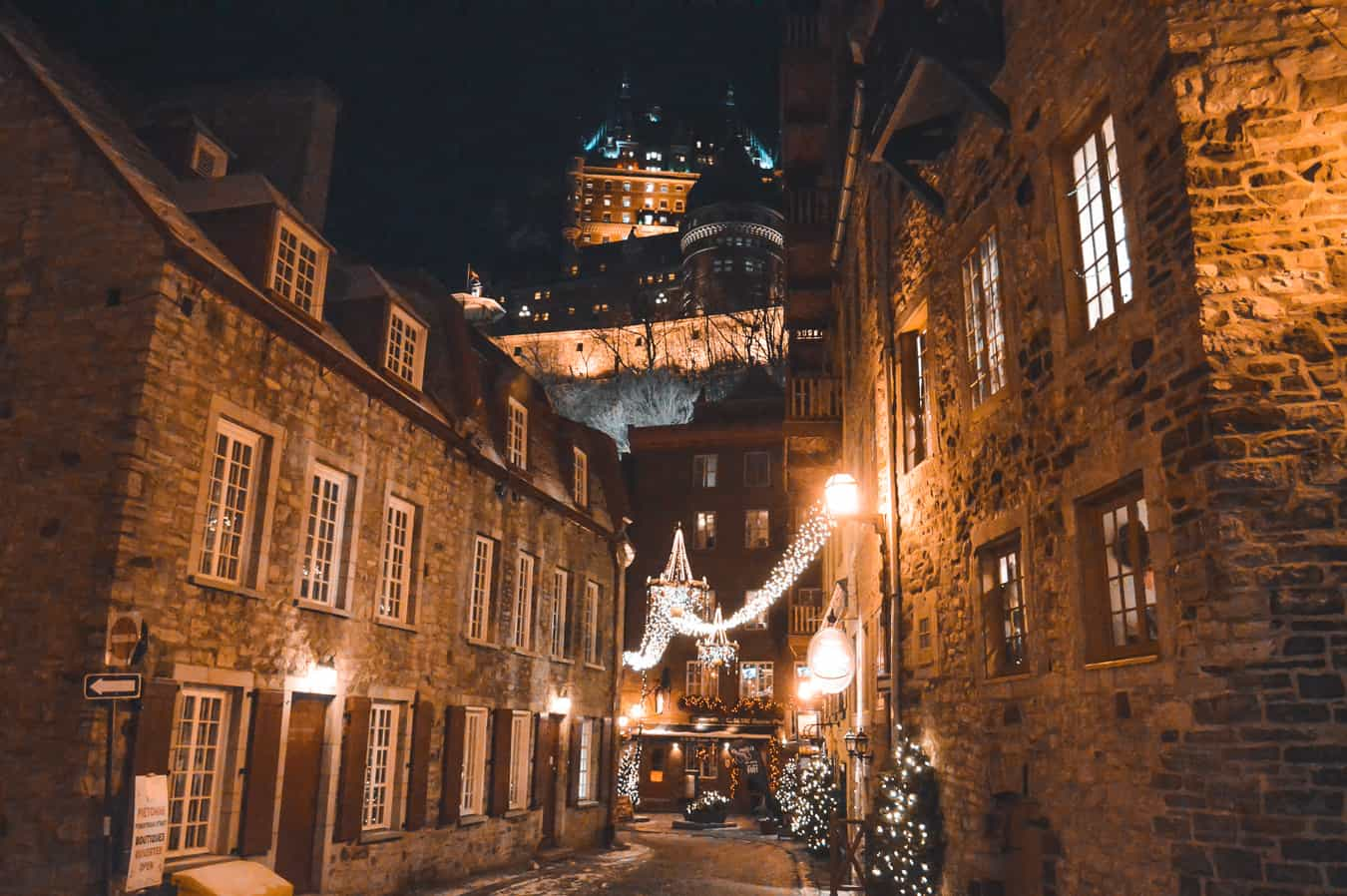 romantic quebec city the perfect destination for christmas
