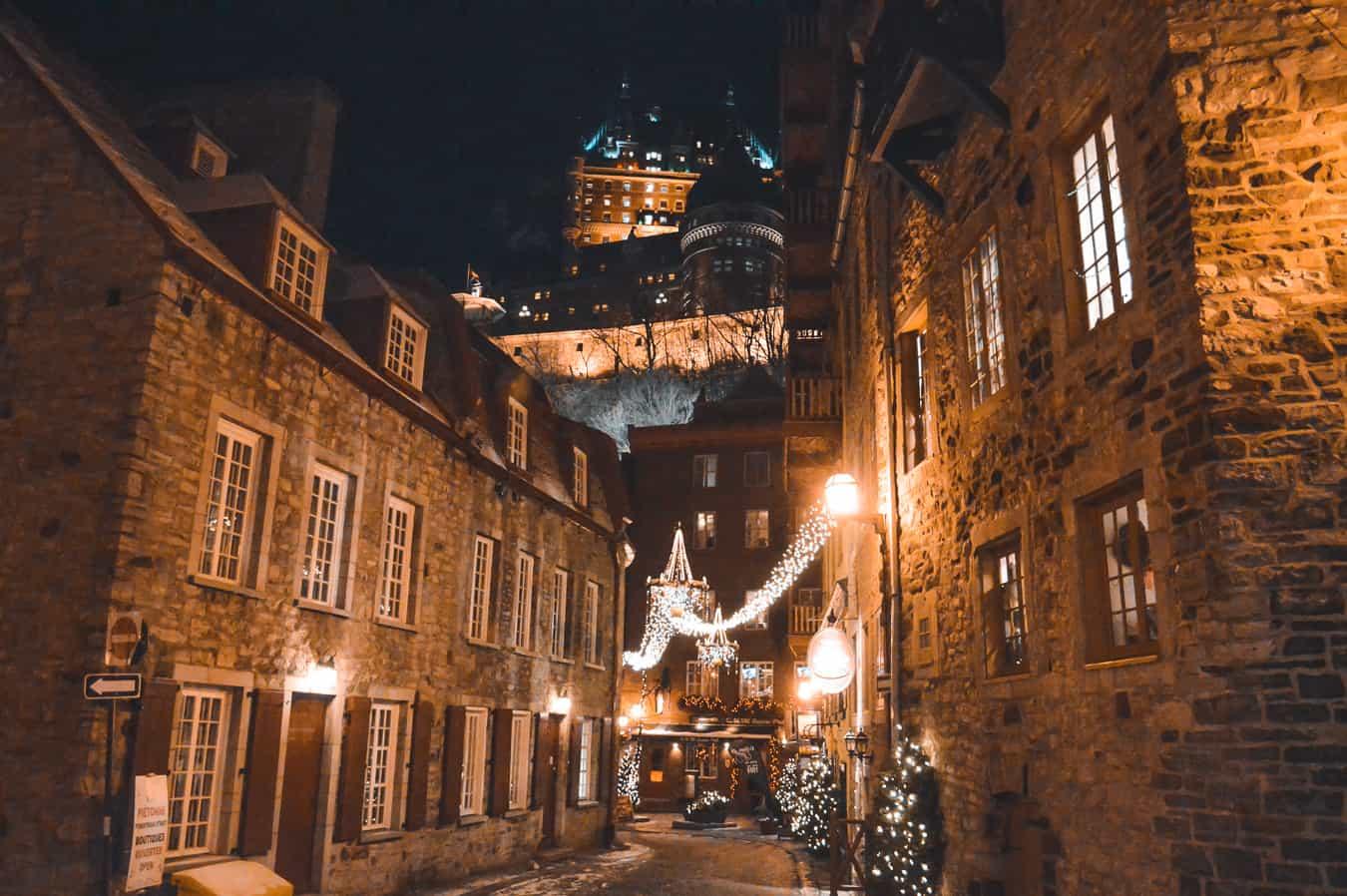 romantic quebec city the perfect destination for christmas