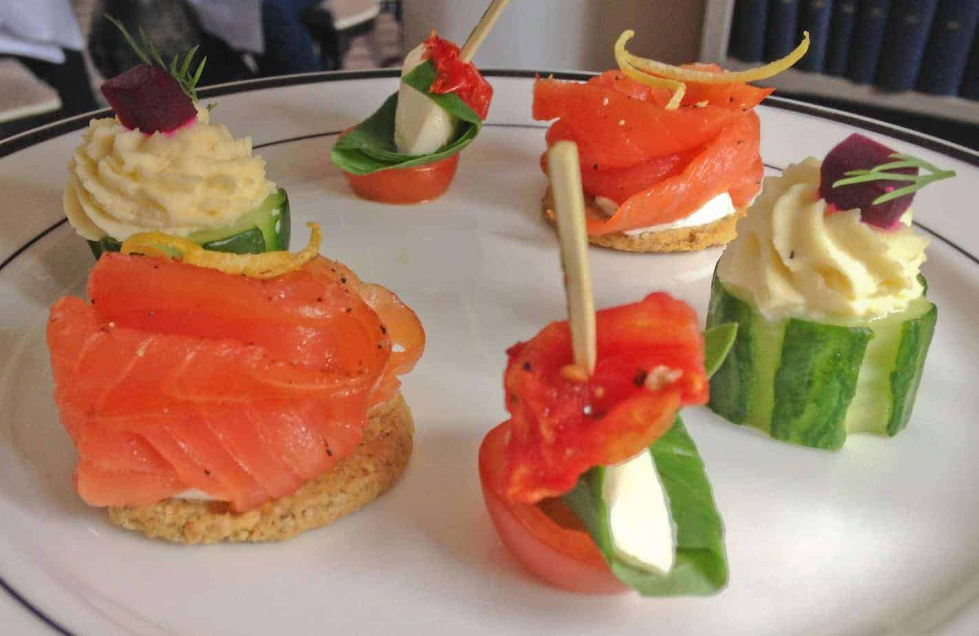 afternoon tea sandwiches - Edinburgh for couples