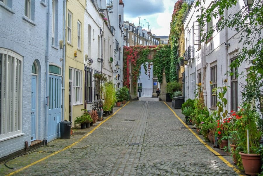 london for couples - cool neighborhoods