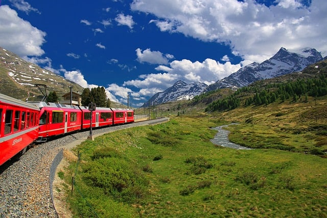 Glacier Express - top things to do in Switzerland