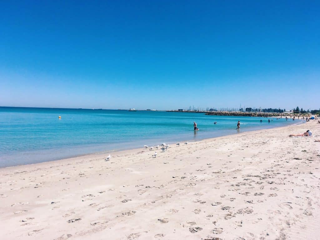 Western Australia things to do swimming in indian ocean