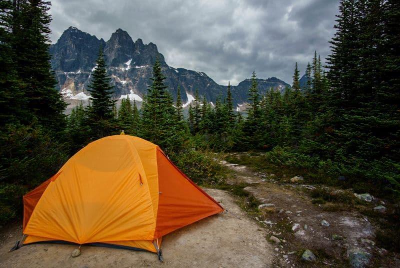 Full sesso Camping in California