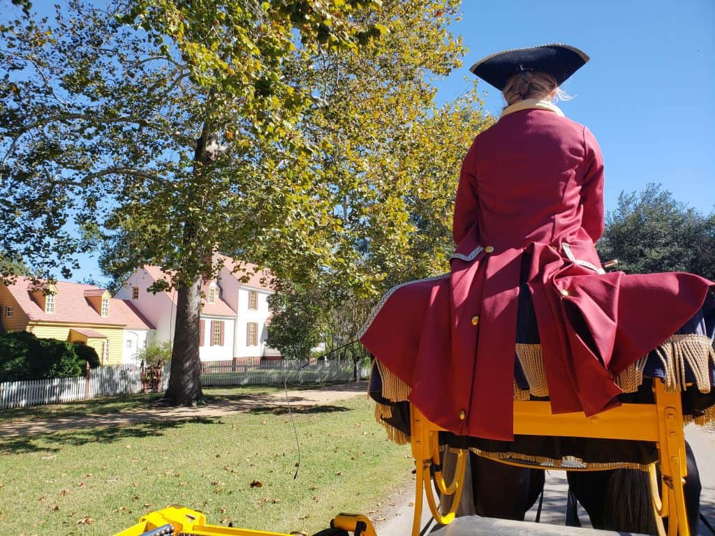 romantic places to go in virginia - Colonial williamsburg