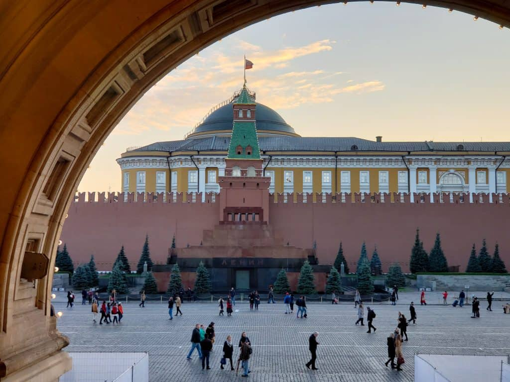 things to do in Moscow Russia - Lenin's tomb