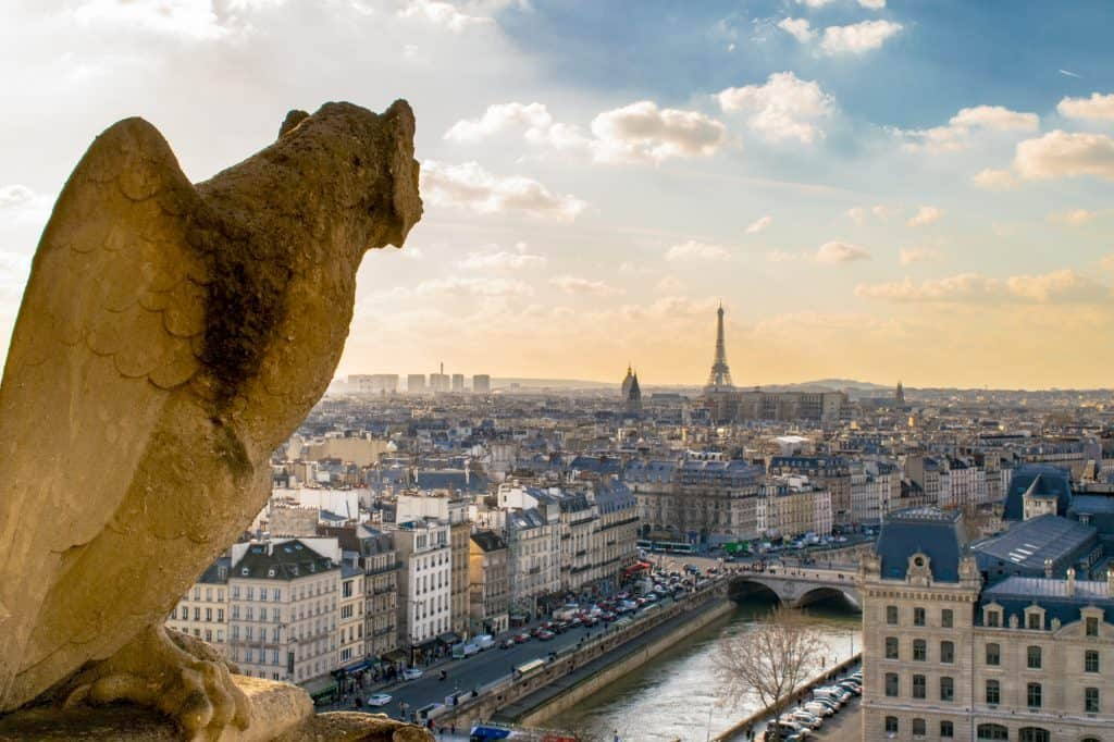 paris, ideal for winter trips europe