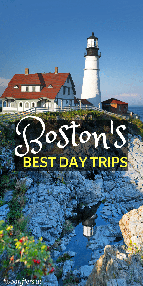 The city of Boston is the perfect gateway to visiting the rest of New England. Here are 5 awesome day trips from Boston to inspire a road trip adventure. #boston #NewEngland #USATravel #Travel #NewEnglandTravel #Massachusetts
