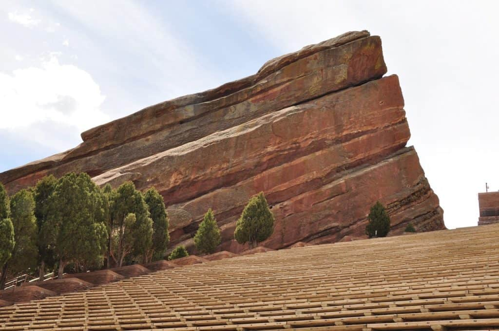 red rocks romantic denver activities