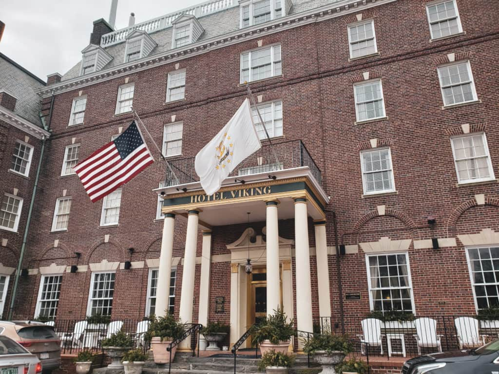romantic hotels Newport RI - Hotel Viking exterior