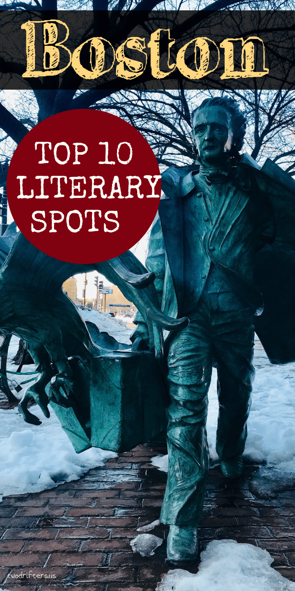 Book lovers and history lovers will thrill over these top literary sites in Boston. See where America's literary elite lived, wrote, and changed history. #Books #Boston #UsaTravel #Travel #BostonTravel #NewEngland #Literature #Literary #History #HistoricPlaces