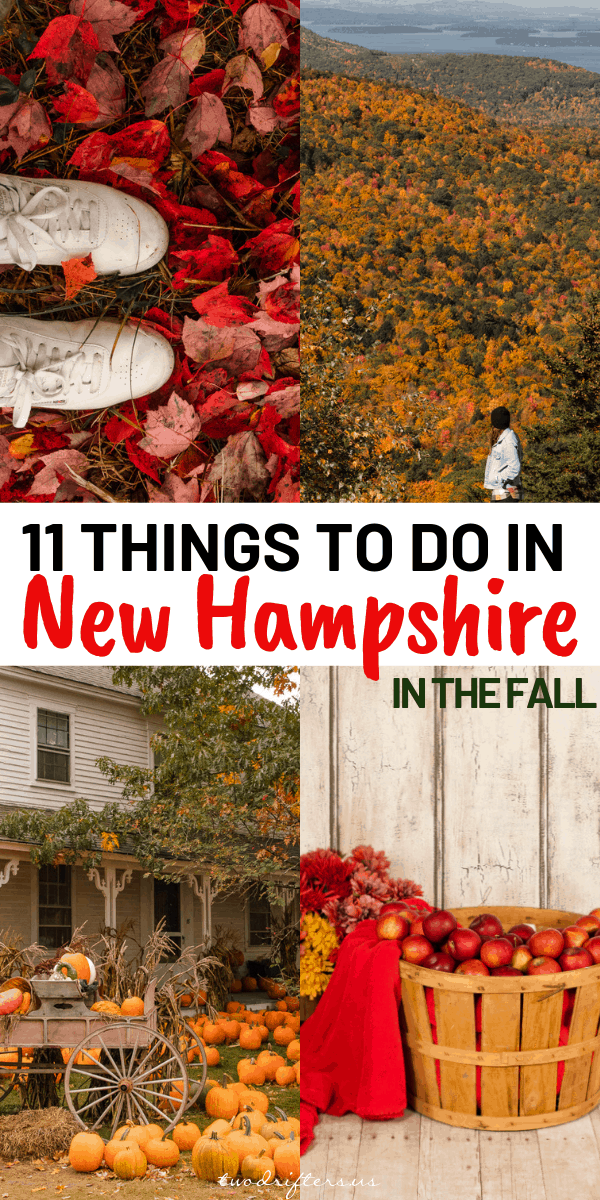 Ah, autumn in New England is a wonderful time. This list includes 11 essential things to do in New Hampshire in the fall to enjoy the season at its best.
