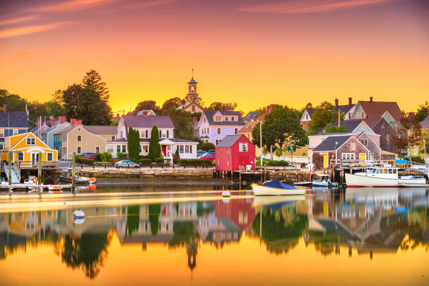 portsmouth nh at golden hour sunset - things to do in portsmouth nh