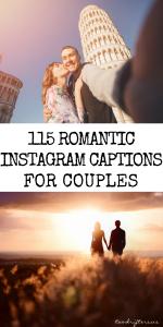 115 Super Sweet Romantic Instagram Captions For Couples