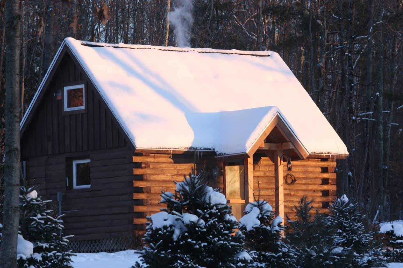 super romantic cabins in vermont for couples