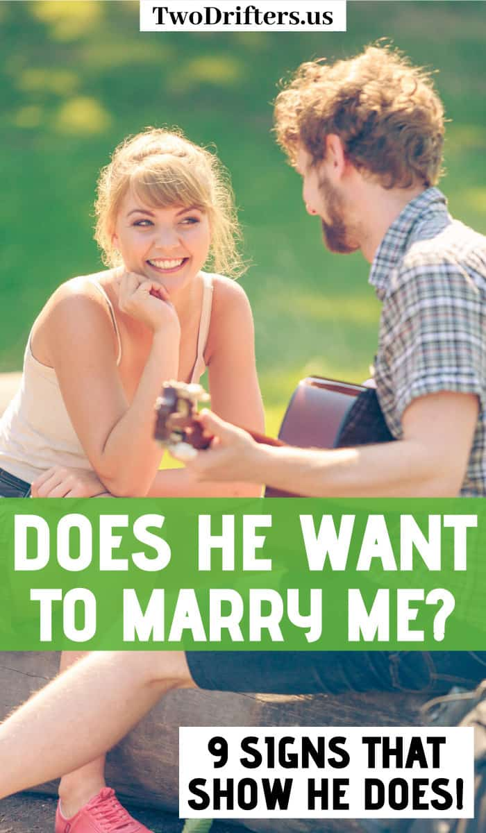 Wants says you marry to he when he If He