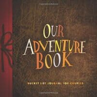 Our Adventures Book: Bucket List Journal for Couples