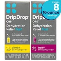 DripDrop ORS - Patented Electrolyte Powder for Dehydration Relief