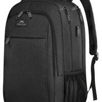 Business Travel Backpack with USB Charging Port