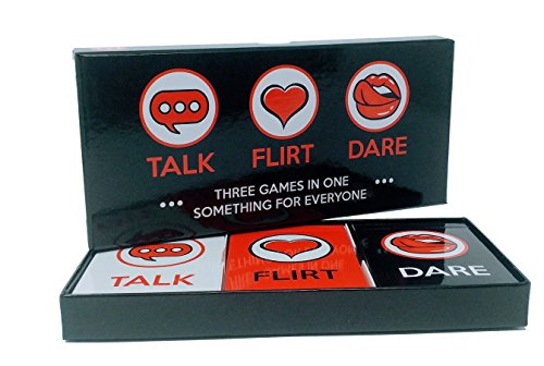 Talk Flirt Dare: 3 Games in 1 for Couples