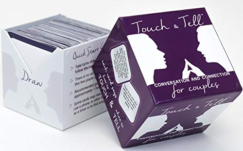 Touch & Tell - Conversation and Connection for Couples Card Game