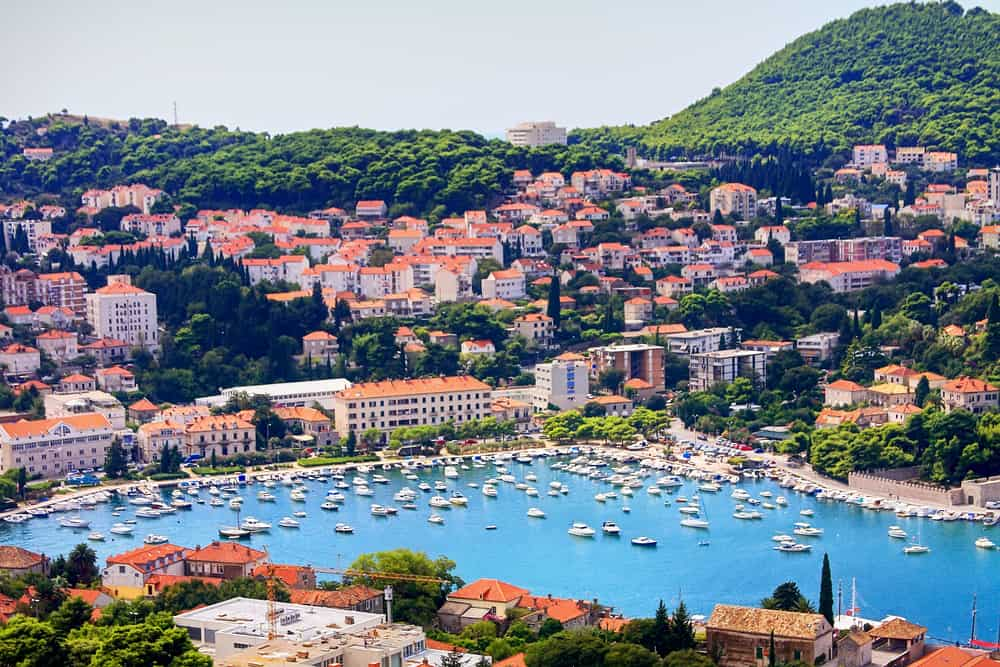 romantic things to do in dubrovnik - beautiful mediterranean city as seen from the water, dubrovnik croatia